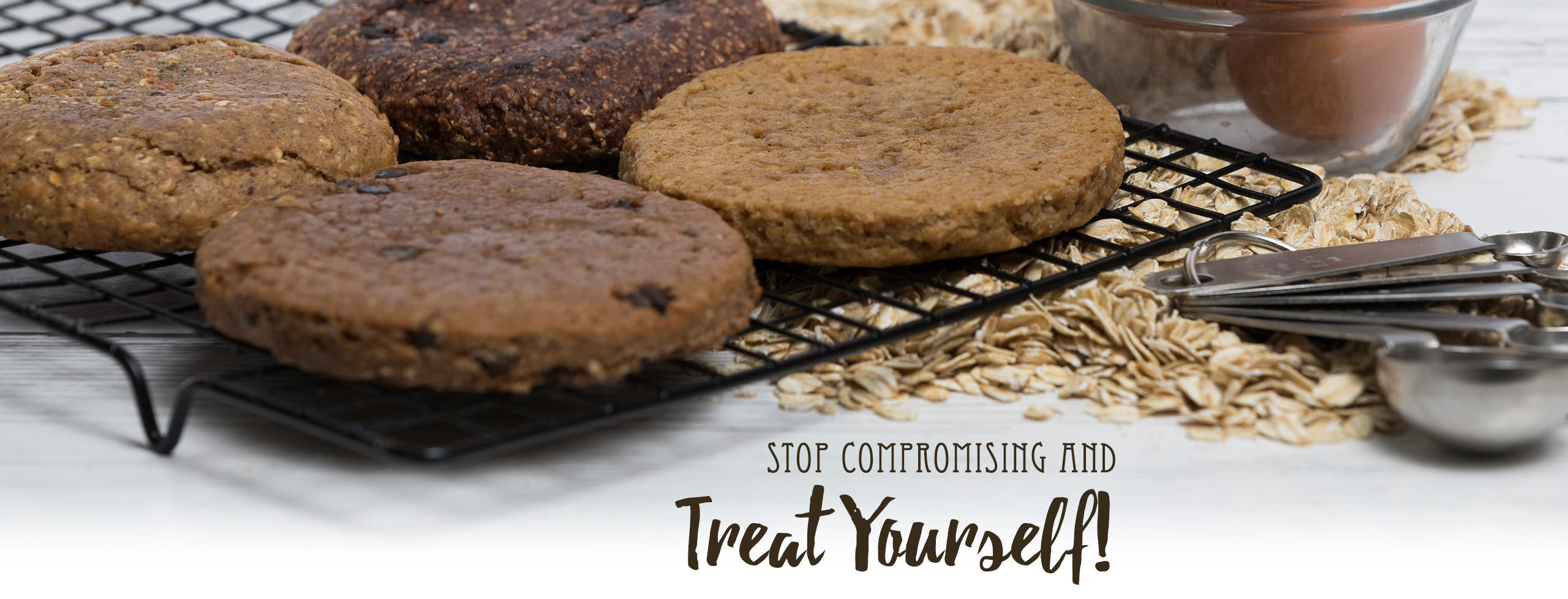 Stop Compromising and Treat Yourself to Mama T's Protein Cookies